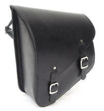 Ledrie Satteltasche schwarz Leder 12 Liter, f. Harley - Davidson Softail