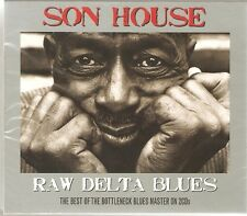 SON HOUSE RAW DELTA BLUES - BOTTLENECK BLUES - 2 CD SET