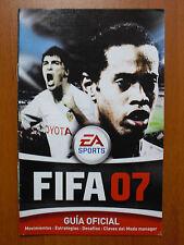 Guía oficial FIFA 07 2007 (PS2 PSP GameCube XBOX 360 PC) Totalmente en Español