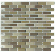 "Crystiles® Peel&Stick Self-Adhesive Tiles, Item# 91010830, 10""X10"", Set of 6"