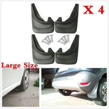Front Rear Mud Flaps Splash Guards Fender Mudguards 4Pcs Universal For Car SUVs