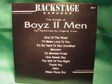 Backstage Karaoke 5817  ~ Boyz II Men ~  CD+G  Karaoke  ~ Boyz II Men ~  NEW