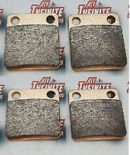 Brake Pads British All Weather Compound For Yamaha YFM350 (2 SETS)