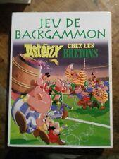 //NEUF JEU DE BACKGAMMON ASTERIX CHEZ LES BRETONS EDITIONS ATLAS