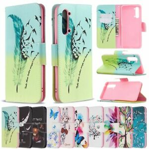 For OPPO A31 A52 A72 A92 A5 A9 2020 Wallet Leather Case Flip Stand Case Cover