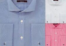 Camicie classiche da uomo sartoriale in cotone