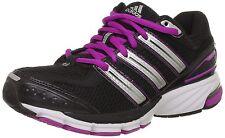 Adidas Donna RISPOSTA , Misura: EURO:42/US:9,5/REGNO UNITO:8 Nero, Rosa, Bianco