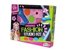 Gl style filles cheveux & ongles set fashion studio make up beauté cosmetics kit 0073
