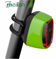 Meilan Smart Bike Tail LED Flashing Light X6 - Green