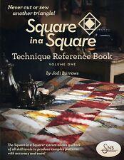 SQUARE IN A SQUARE TECHNIQUE REFERENCE BOOK VOLUME 1 Triangle Jodi Barrows NEW