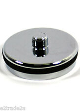 "Bath Chrome Plated Plastic Plug with Rubber Seal 1 ¾"" CP2 McAlpine F0104CP-P"