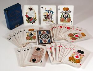 1900 ANHEUSER BUSCH BREWING / BUDWEISER ADVERTISING ARMY & NAVY PLAYING CARDS
