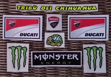 Helmet decal sticker Kit Set Valentino Rossi 2011/2012 - tribu' dei Chihuahua