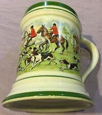 Fox Hunt Hunting Mug Green Bottom