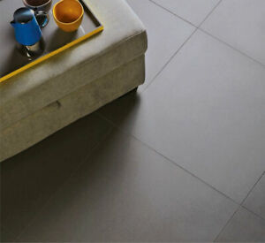 £19.89m2 Solid Dark Grey Porcelain Tile Matt finish - Wall Floor tiles - SAMPLE