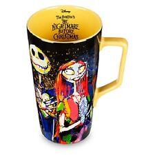 DISNEY STORE NIGHTMARE BEFORE CHRISTMAS JACK AND SALLY GOTHIC LATTE COFFEE MUG