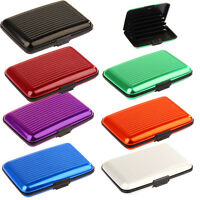 Men Women Aluminum Aolly Blocking ID Credit Card Holder Case Fashion Wallet
