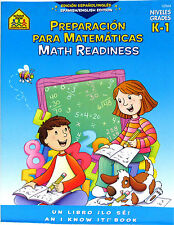 Math Readiness Spanish/English Edition (Paperbavk) K-1  FREE shipping $35
