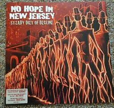 NO HOPE IN NEW JERSEY - 'STEADY DIET OF DECLINE' - NEW AND UNPLAYED VINYL LP