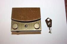 Accessoire Maroquinerie 1 Fermoir a Clef Bouton Poussoir Fixation griffe & rivet