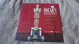 OSCARS'S GREATEST MOMENTS - 1971-1991 -  LASER VIDEODISC   SEALED/MINT