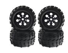 4x Monstertruck neumáticos llantas 1:8 Anteriormente SEBEN mrf6 Negro arrma