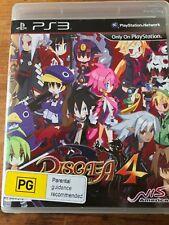 DISGAEA 4 A PROMISE UNFORGOTTEN PS3 PLAYSTATION 3 ORIGINAL AUS PAL VGC RARE