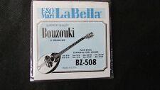 La bella BZ508 BZ-508 bouzouki 8 string set Strings freepost 1st class