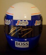 Alain Prost SIGNED 1/2  Scale McLaren Helmet 1985