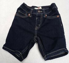 Levis Toddler Boys Dark Demin Shorts 2T (1-2Y) Ec