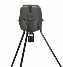 MOULTRIE 30 Gal Adjustable Height Quick-Lock Elite Tripod Deer w/Digital Timer