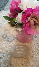 Sass and Belle, Fairies Meeting Place Pebble, Gift,Garden,Home,