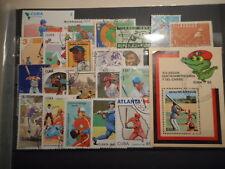 Base-Ball  20 timbres + 1 Bloc  Neufs & Oblitérés