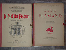 Mobilier Bressan et Flamand - Art régionalisme Meuble ancien Champier 2 vol.