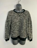 WOMENS ABERCROMBIE&FITCH SIZE SMALL BLACK&WHITE CASUAL PULLOVER JUMPER SWEATER