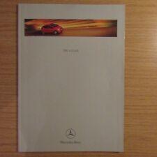MERCEDES-BENZ W168 A-CLASS A140 A160 A190 A170 CDI Benzina Diesel brochure 1999
