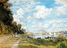 Bassin d'Argenteuil by Claude Monet A1+ High Quality Art Print