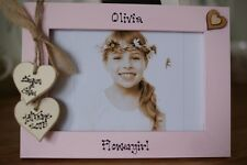 Personalised Photo Frame by Filly Folly! Flowergirl Flower Girl Gift! 6x4''