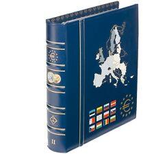 VISTA album numismatique avec 6 feuilles pour séries d'euros Volume2  Réf 302742