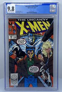 Uncanny X-MEN #245 CGC 9.8 (Marvel 1989) OW-W Rob Liefeld ~ Boba Fett Appearance