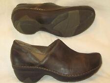 Patagonia Better Sabots Chaussures Cuir Sz 7 Eu 38 Profond Expresso Fermé