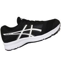 ASICS WOMENS Shoes Patriot 8 - Black, White & White - T669N-9001