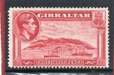 Gibraltar GV1,1938-52 1.1/2d carmine P14 sg 123 HH.Mint