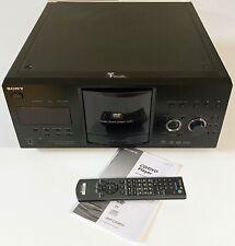 New listing Sony Dvp-Cx985V 400 Disc Explorer Dvd-Cd-Sacd Mega Changer Player