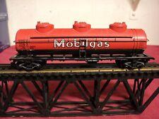 "Athearn HO Gauge   ""Mobilgas "" tanker vintage 1970    6 "" in length"