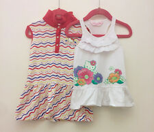 2 x Hello Kitty Little Girl summer dress 2 years old 90cm bundle lot