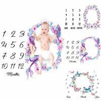 wickel foto - show baby decke fotografie - hintergrund zahl gedruckt