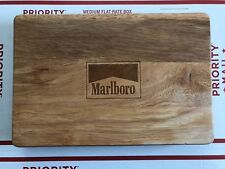 Marlboro Brand New Sealed Poker Set with Heavy Wood Case Poker Chips & Cards