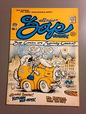 ALL NEW ZAP COMIX NO. 1 3rd Print R. CRUMB ART CLASSIC UNDERGROUND COMIC RARE!!