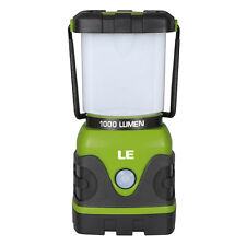 LE Super Bright Outdoor Camping LED Lantern Water Resistant 1000lm 4 Modes